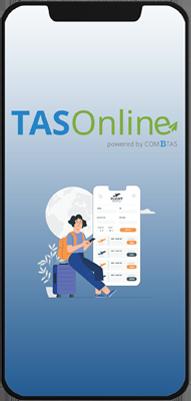 Tas Online - online booking tool